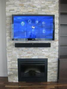 Audio/TV installation